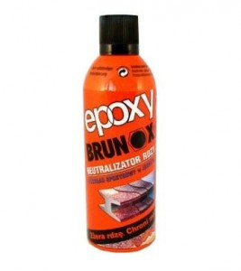 BRUNOX EPOXY ŚRODEK NA RDZĘ SPRAY 2w1 400ml