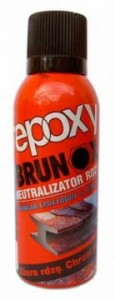 BRUNOX EPOXY ŚRODEK NA RDZĘ SPRAY 2w1 150ml
