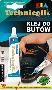 TECHNICQLL KLEJ DO BUTÓW  20ml